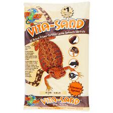 """Zoo Medâ""""¢ 10 lbs Vita Sandâ""""¢ calcium carbonate substrate Reptile Sand Gobi Gold"""