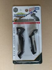 Takara Tomy Beyblade Burst B-114 Launcher Grip Metal Weight Black - US SELLER