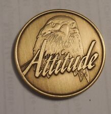 AA ALCOHOLICS ANONYMOUS ATTITUDE EVERY DAY MATTERS Chip Coin Token Medallion NEW