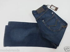 Cult Jeans energia limone trousers Relaxed 28 Button Fly dark blue used NUOVO/p39