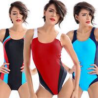 Sport One Piece Swimsuit Monokini Womens Swimwear Plus Size Bikinis Bathing Suit