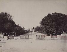 Montpellier France Vintage albumine vers 1880