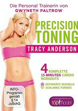 TRACY ANDERSON - PRECISION TONING  DVD NEU
