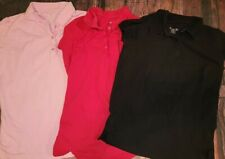 The Children's Place Uniform Lot Of 8 Size 14 Girls Polos red pink black blue