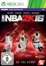 NBA 2K16 (Microsoft Xbox 360, 2015, DVD-Box)