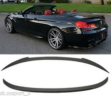 BMW F12 F13 ABS BOOT SPOILER V STYLE TRUNK M6  PERFORMANCE 6 SERIES 2001-2017