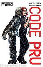 Code Pru #2 Movie Poster Cover Comic Book 2016 - Avatar