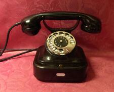 altes antikes Telefon  SIEMENS W 28 Telephone Fernsprecher restauriert ORIGINAL
