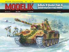 Modelik 27/10 - Pz. Kpfw. V Panther Exéc. G avec Lasercut pièces 1:25