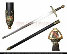 """41"""" Crusader Knight Sword of Roland with Scabbard Brand New"""