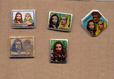pin badge anstecknadel pirate SANDOKAN - TV SERIES - 5 DIFFERENT PINS