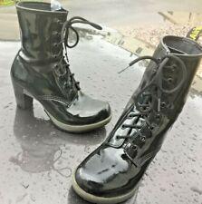 Dr Martens Darcie black patent leather UK 5 EU 38