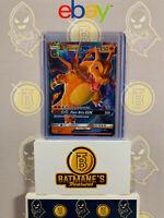 Charizard GX SM211 NM/M MINT Hidden Fates Full Art Ultra Rare Holo Pokemon Card