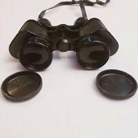 MAREL 7x35 Coated Optics Binoculars Hong Kong Vintage with Lens Covers