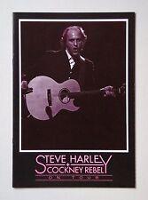 Steve Harley & Cockney Rebel 'On Tour' 1989 European tour programme