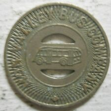 Mon Valley Bus Company (Clairton, Pennsylvania) transit token - PA195M