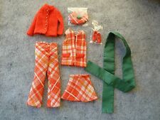 Vintage Barbie - Francie's 1970 Complete Plaid Plans Variation #1767!