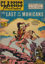 CLASSICS ILLUSTRATED #4 G, LAST OF THE MOHICANS, HRN64, Gilberton Comics