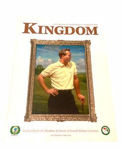 Kingdom Magazine Arnold Palmer #3 2004 Issue Golf Golfing Sports Mint