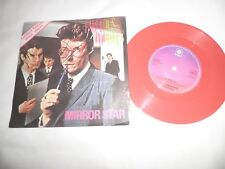 """fabulous poodles mirror star limited edition pink vinyl  7"""" record new wave"""