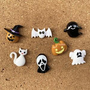 7pcs mini Halloween theme Push Pins,Thumbtack,home decoration,photo wall