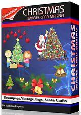 CHRISTMAS IMAGES,Card Making, Decoupage,Vintage,Tags, Santa Craft Download