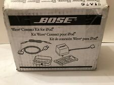 NEW SEALED INSIDE BOX BOSE WAVE CONNECT KIT FOR IPOD 297568-110C
