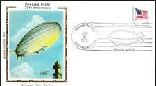 75th Anniversary of Powered Flight Airship Colorano Cover (3539z)
