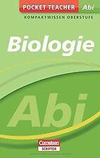 Pocket Teacher Abi Biologie: Kompaktwissen Oberstufe von...   Buch   Zustand gut