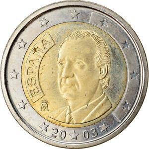 [#765361] Espagne, 2 Euro, 2003, SUP, Bi-Metallic, KM:1047