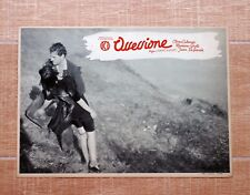 OSSESSIONE fotobusta poster Luchino Visconti Calamai Girotti Incidente Auto T43