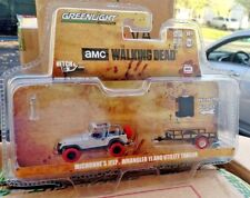 Greenlight Walking Dead Michonne's Jeep Wrangler Chase with Red Tires machine