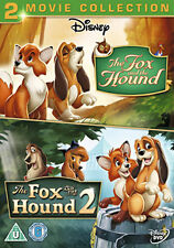 DVD:THE FOX AND THE HOUNDS 1 AND 2 - NEW Region 2 UK