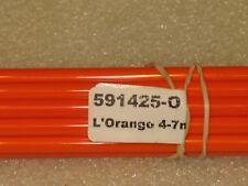 Moretti/Effetre #425-O L'Orange glass Rods 4mm
