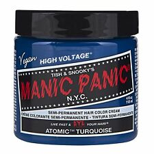 Manic Panic Vegan Semi Permanent Hair Color Cream 118 mL Atomic Turquoise
