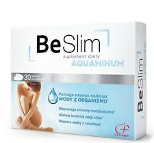 BE SLIM AQUAMINUM Wspomaga Odchudzanie Dietary Supplement Weight Loss 30 tabs