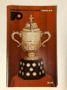 Rare - 1968-69 PHILADELPHIA FLYERS MEDIA GUIDE/YEARBOOK NHL - Bernie Parent
