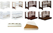 Unbranded Nursery Cotbeds with Mattresses