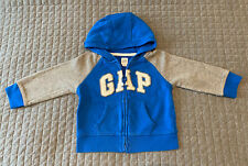 Gap Boys Blue Hoodie, Size: 12 to 18 months