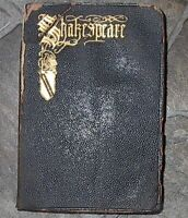 1926 COMPLETE DRAMATIC & POETIC WORKS OF Shakespeare Leather Bound