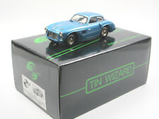 Tin Wizard 1952 Pegaso z-102 ENASA Coupe Blue metallic 1/43 white metal