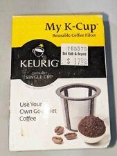 New in Box - Keurig My K-Cup Reusable Coffee Filter (5048) - Black