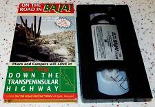On the Road in Baja Vintage 1991 Road Trip Adventure VHS