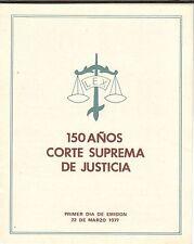 Chile 1977 Brochure 150 Años Corte Suprema de Justicia