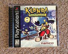 PS1 Playstation 1 Klonoa Door to Phantomile Complete Rare