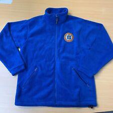 Rangers FC Football Club Fleece Jacket Small