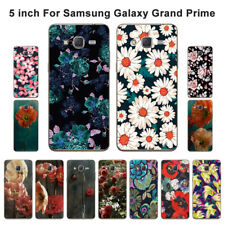 Soft TPU Silicone Case For Samsung Galaxy Grand Prime Back Cover Skins Floral