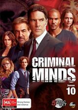 Criminal Minds Season 10 BRAND NEW SEALED DVD R4