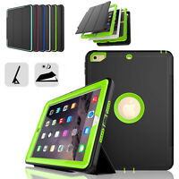 """Heavy Duty Rugged Hard PC Case For Apple iPad 9.7"""" 6th Generation 2018 Cover"""