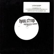 """LYCA SLEEP - CLOSER IN - NUMBERED 7"""" VINYL SINGLE"""